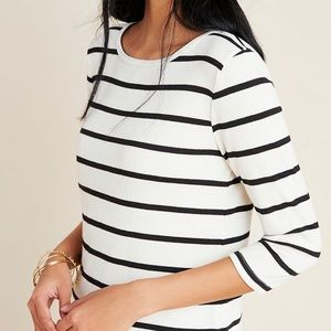 NWT Anthropologie Boat Neck Top!